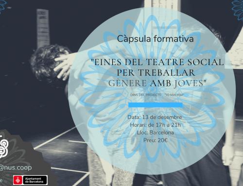 Nova càpsula formativaTeatre Social, gènere i joves